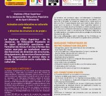 Lancement du DESJEPS à l'attention des animateurs le 4 décembre à 14h