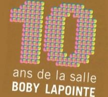 Boby fête ses 10 ans à la MJC de Villebon-sur-Yvette (91) les 7, 8 et 9 novembre