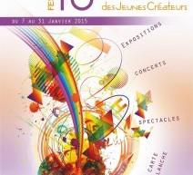 10ème Salon des Jeunes Créateurs à la MJC Louis Lepage à Nogent (94) du 7 au 31 janvier 2015