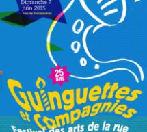 Les 25 ans des Guinguettes, les 6 et 7 juin à Villebon et Palaiseau (91)