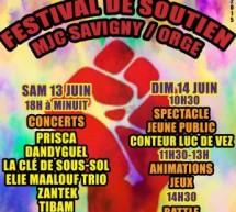 Festival de soutien à la MJC de Savigny-sur-Orge (91)