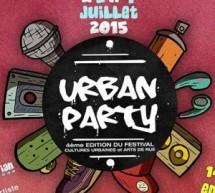 Festival Urban Party à Pontault-Combault les 2 et 4 juillet