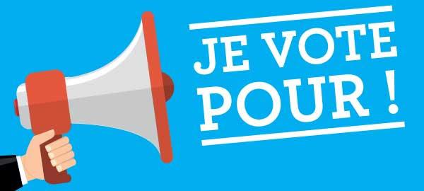 je vote !
