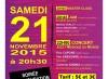 Sam. 21 novembre, inauguration du MUZIK'club à la MJC Club de Créteil (94)