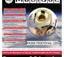 Festival de musique et de danse du 1er au 8 déc. à la MJC de Ris-Orangis (91)