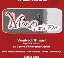 MonParisFM – Centre d'animation Oudiné (Paris 13)