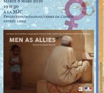 Les Hommes comme alliés, projection à la MJC Nogent-surMarne
