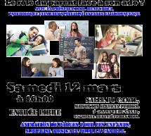 «Adolescence, autonomie, autorité : le rôle du parent face à son ados ?» samedi 12 mars à Ste-Geneviève (91)