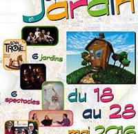 Festival « Spectacles en jardin » du 18 au 28 mai + AG le 28 mai à la MJC de Morangis (91)