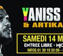 BONNE MACHINE 2016 – YANISS ODUA le 14 mai à la MJC de Conflans-Sainte-Honorine (78)