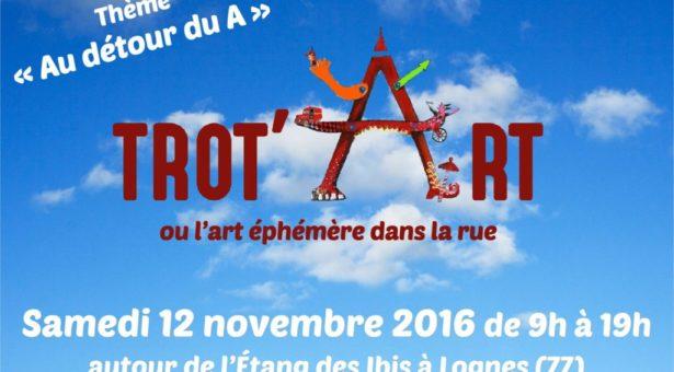 TROT'ART 2016 : appel à projets jusqu'au 16 septembre 2016