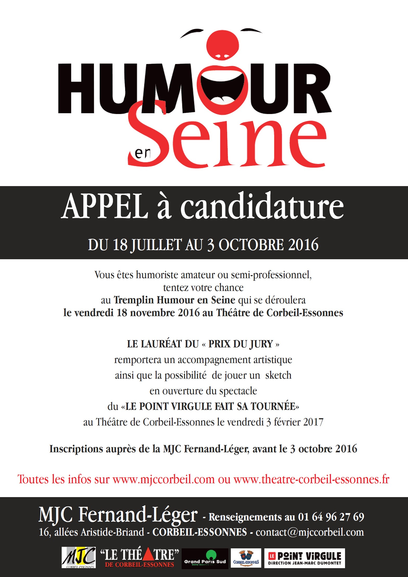 appel a candidature 2016