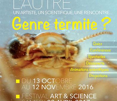 « D'un monde à l'autre »  2016 – Arts et Sciences à Créteil (94) le 13 octobre