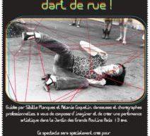 Le Centre Paris Anim René Goscinny organise un atelier «Créez un spectacle d'art de rue!»