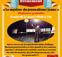 Conférence gesticulée au Centre Eugène Oudiné (Paris 13e) – Vendredi 31 mars