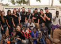Les jeunes persanais construisent une salle de classe au Sénégal