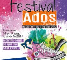 7e édition du Festival Ados – Inscriptions aux concours