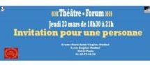 Spectacle de théâtre-forum sur les discriminations racistes proposé par le centre Paris Anim'Eugène Oudiné et la compagnie Naje