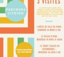 Parcours citoyen avec le Centre Paris Anim' Pôle Simon Le Franc