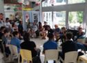 Des jeunes franciliens au «Rendez-vous Place du jeune»