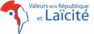 """Logo officiel du dispositif """"Valeurs de la République et laïcité"""""""