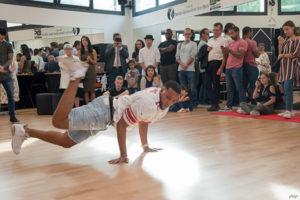 Performances de danse, durant l'inauguration de la salle Arthur Mitchell - Espace Multiactivités de la Bergerie, samedi 13 octobre 2018.