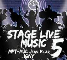 STAGE LIVE MUSIC – MJC Jean Vilar d'Igny