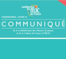 COVID-19 : COMMUNIQUÉ DE LA CMJCF – «Appel à une solidarité mutuelle et réciproque»