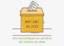Motion AG 2020 : «Un numérique au service de toutes et tous»